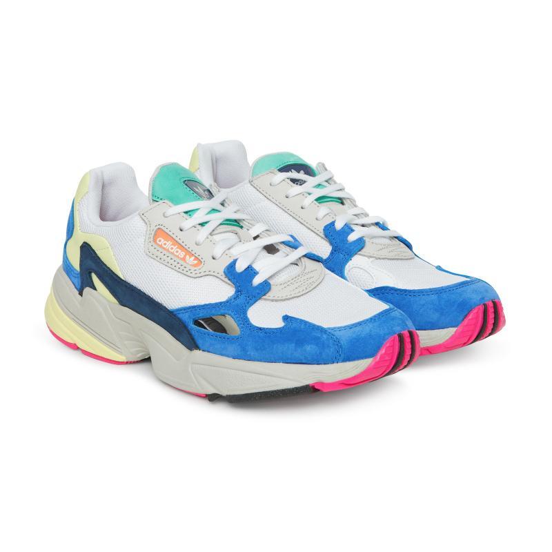 Adidas Originals - Blue Wmns Falcon Sneakers - Lyst. View fullscreen c7aac6625