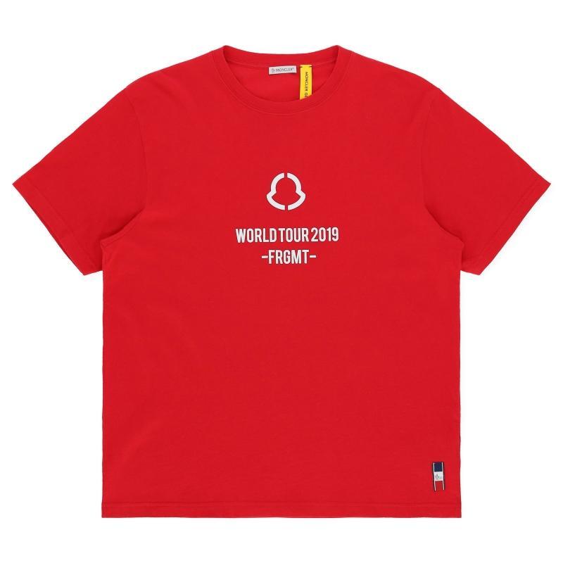 cb446d751 Moncler Genius. Red 7 Fragment T-shirt. £189 From Slam Jam Socialism