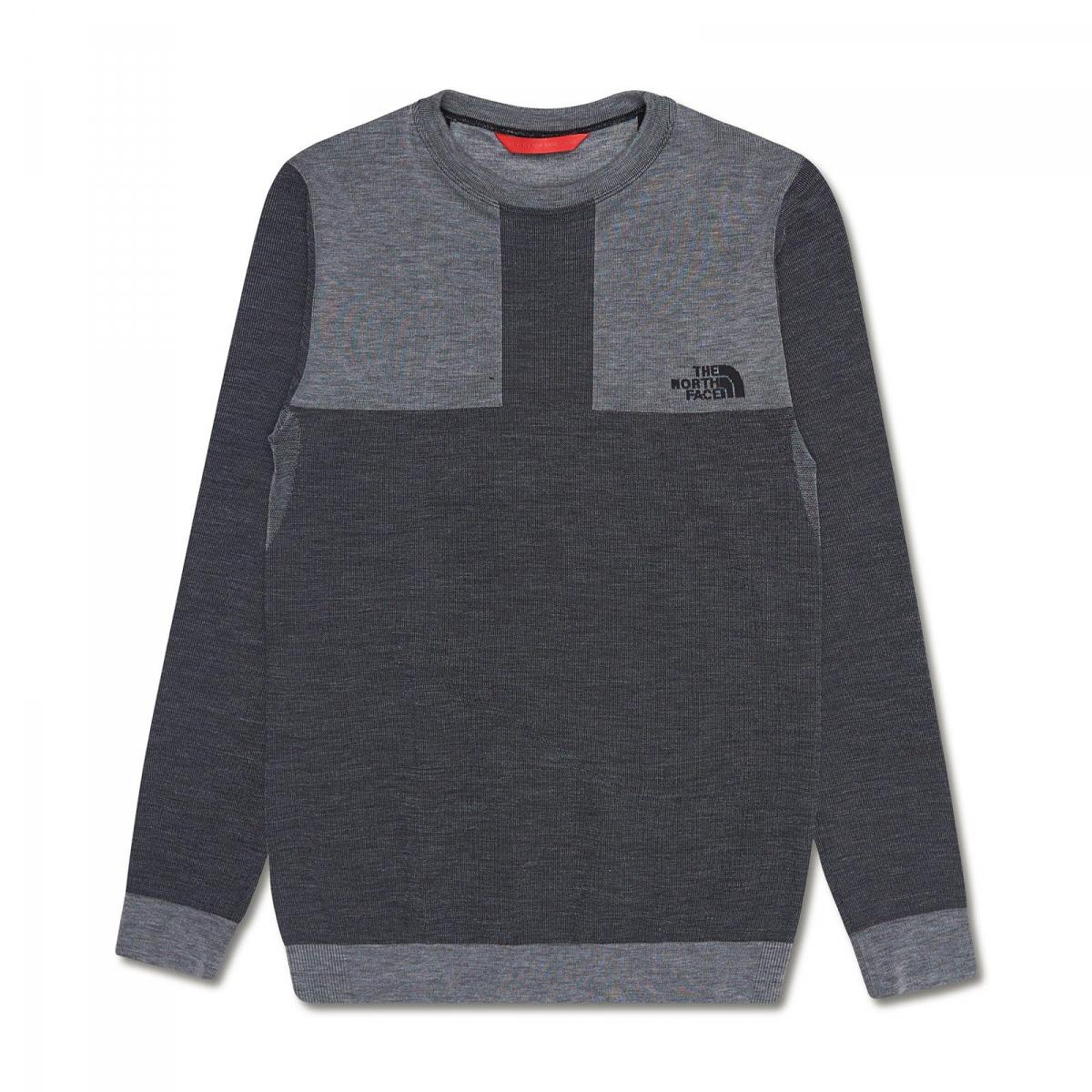 Lyst the north face mountain crewneck long sleeve t for Mountain long sleeve t shirts