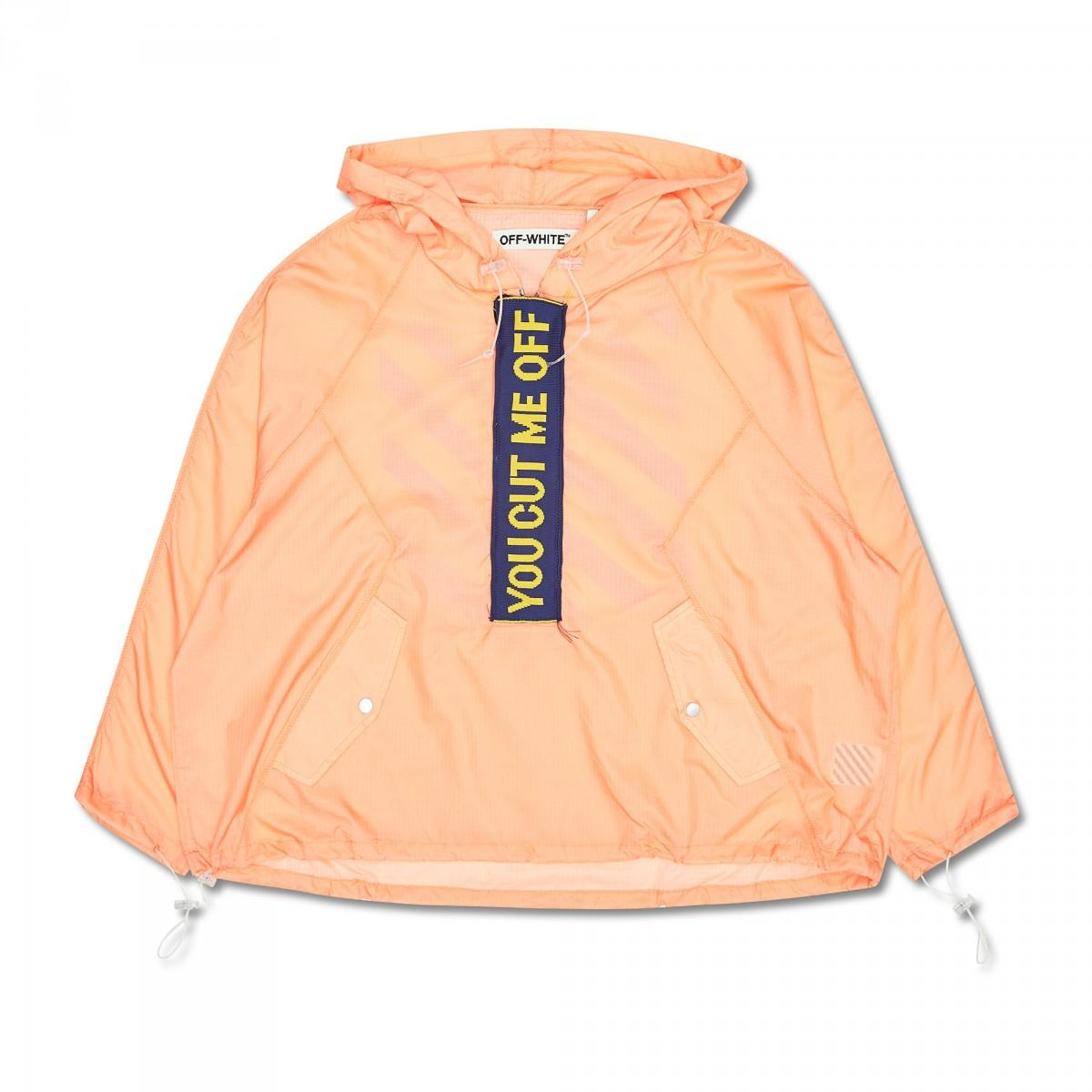 1344c2303838 Off-White C O Virgil Abloh Anorak You Cut Me in Blue for Men - Lyst