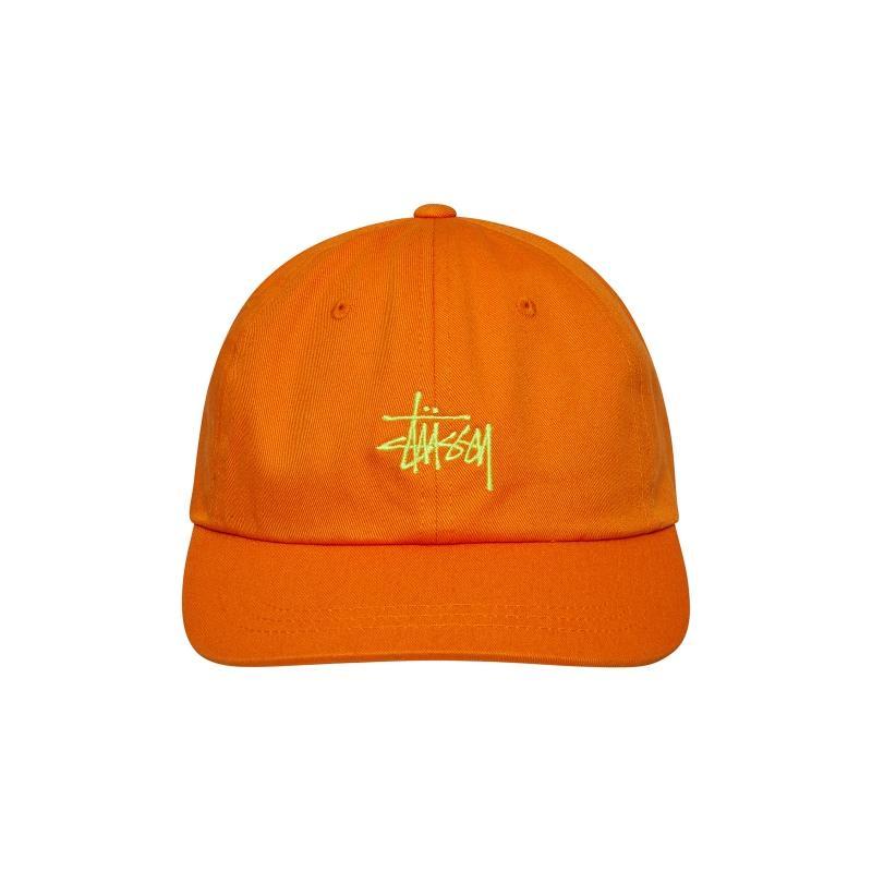 4bea9332ab0 Stussy - Orange Sp19 Stock Low Pro Cap for Men - Lyst. View fullscreen