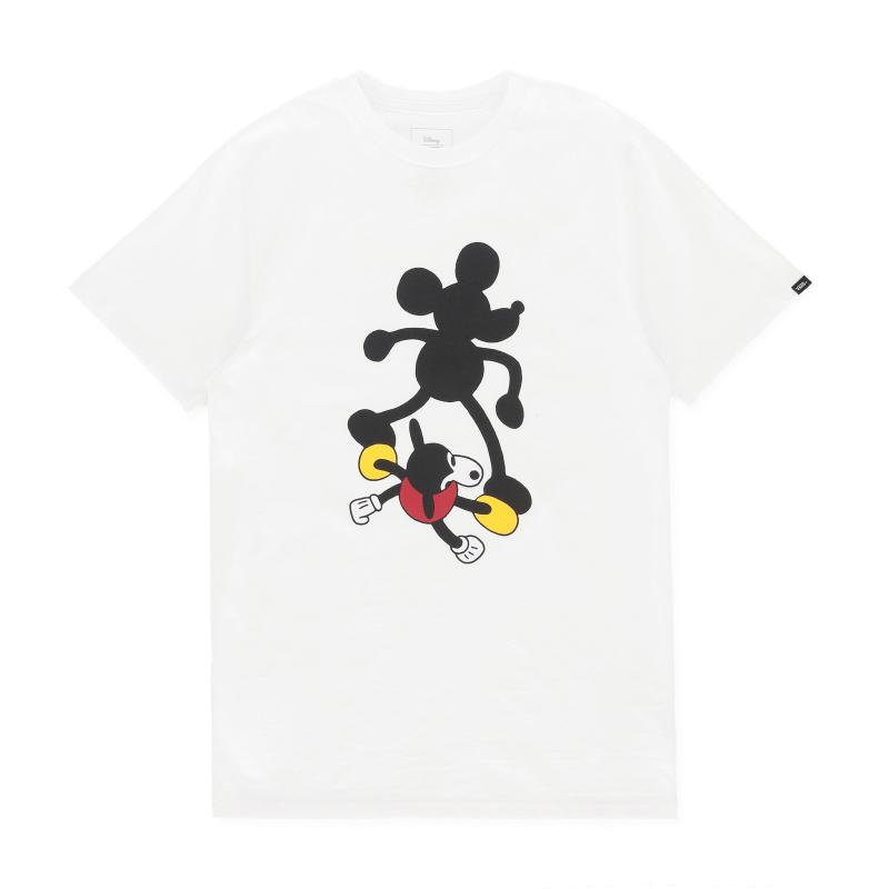f2b499b70dd Lyst - Vans Mickey Mouse 90th T-shirt in White for Men