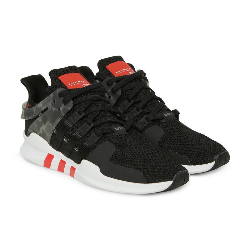 66119c76462 Adidas Originals - Black Eqt Support Adv Sneakers for Men - Lyst. View  fullscreen