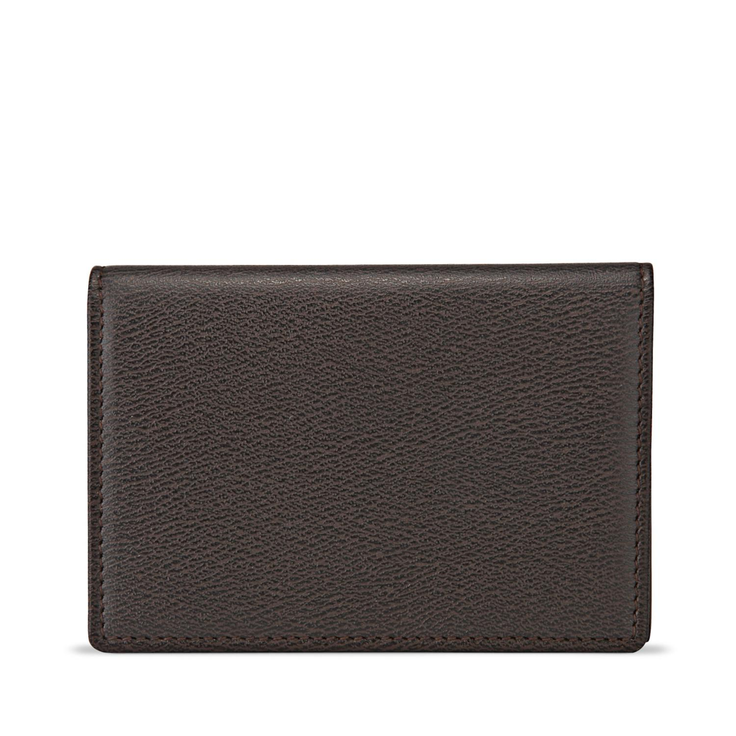 Lyst smythson business card case in brown for men smythson mens brown business card case colourmoves