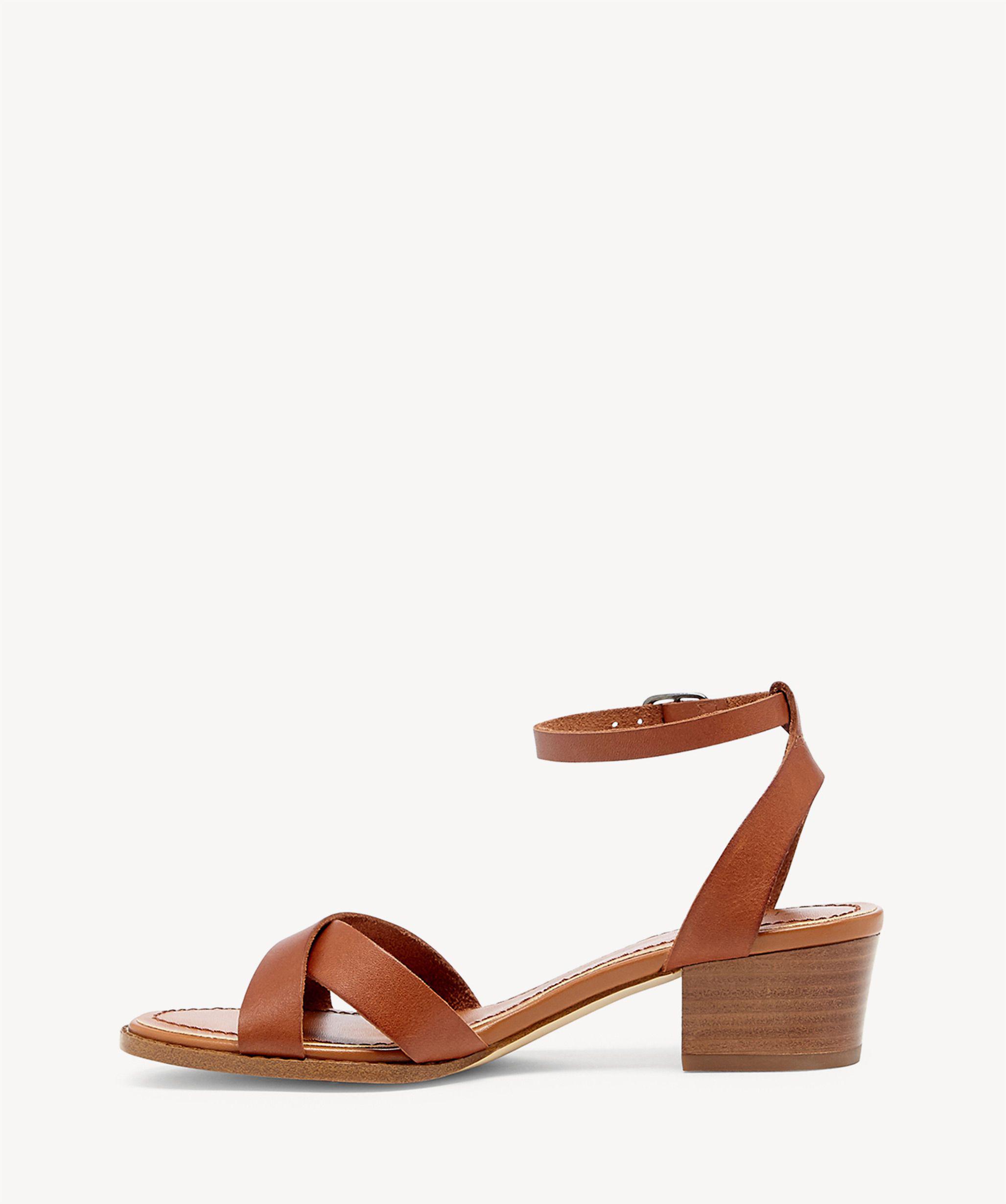 b38ee73f1f2 Lyst - Sole Society Savannah Block Heel Sandal in Brown