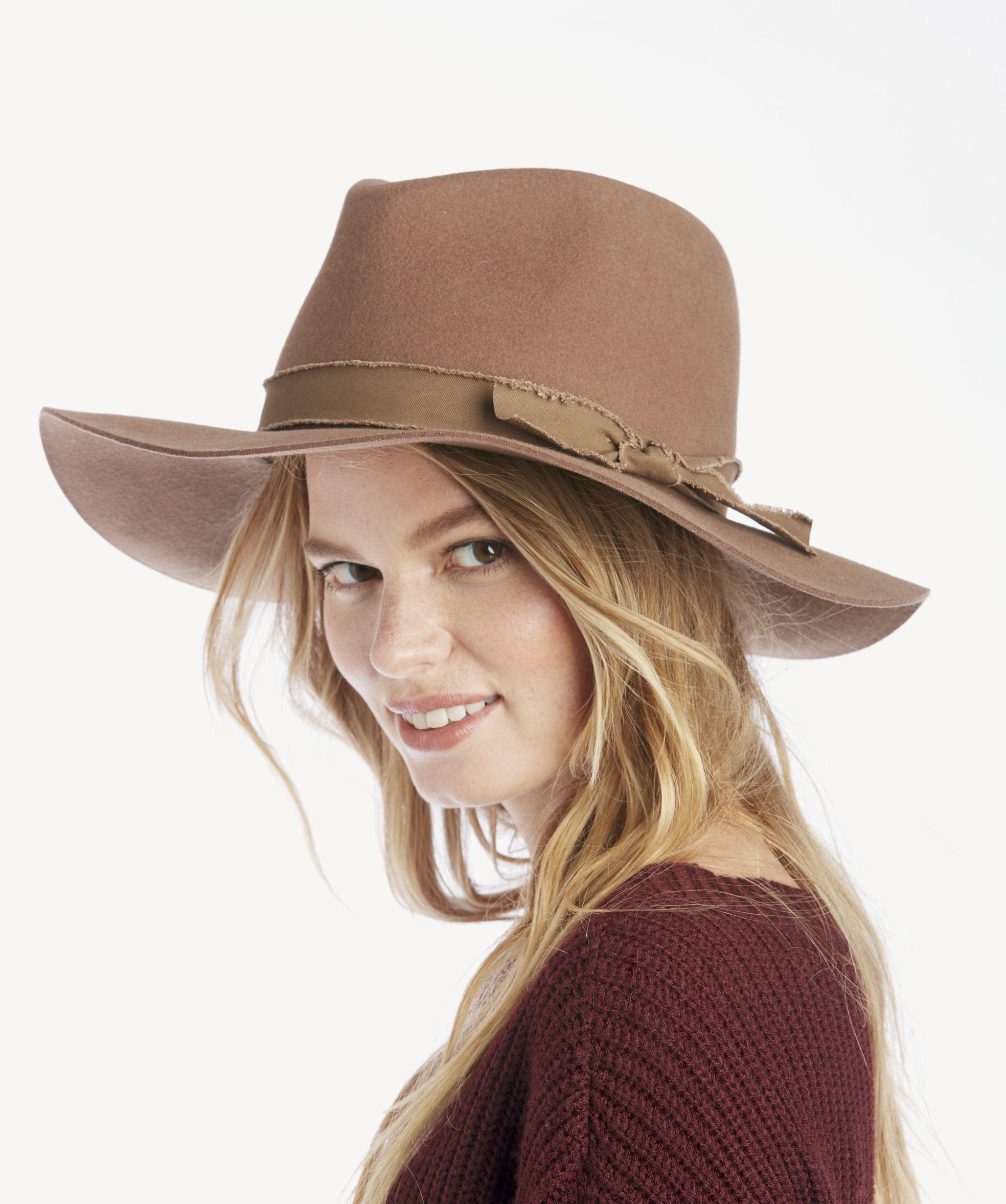 Lyst - Sole Society Wool Felt Panama Hat in Green 957d86e7d835