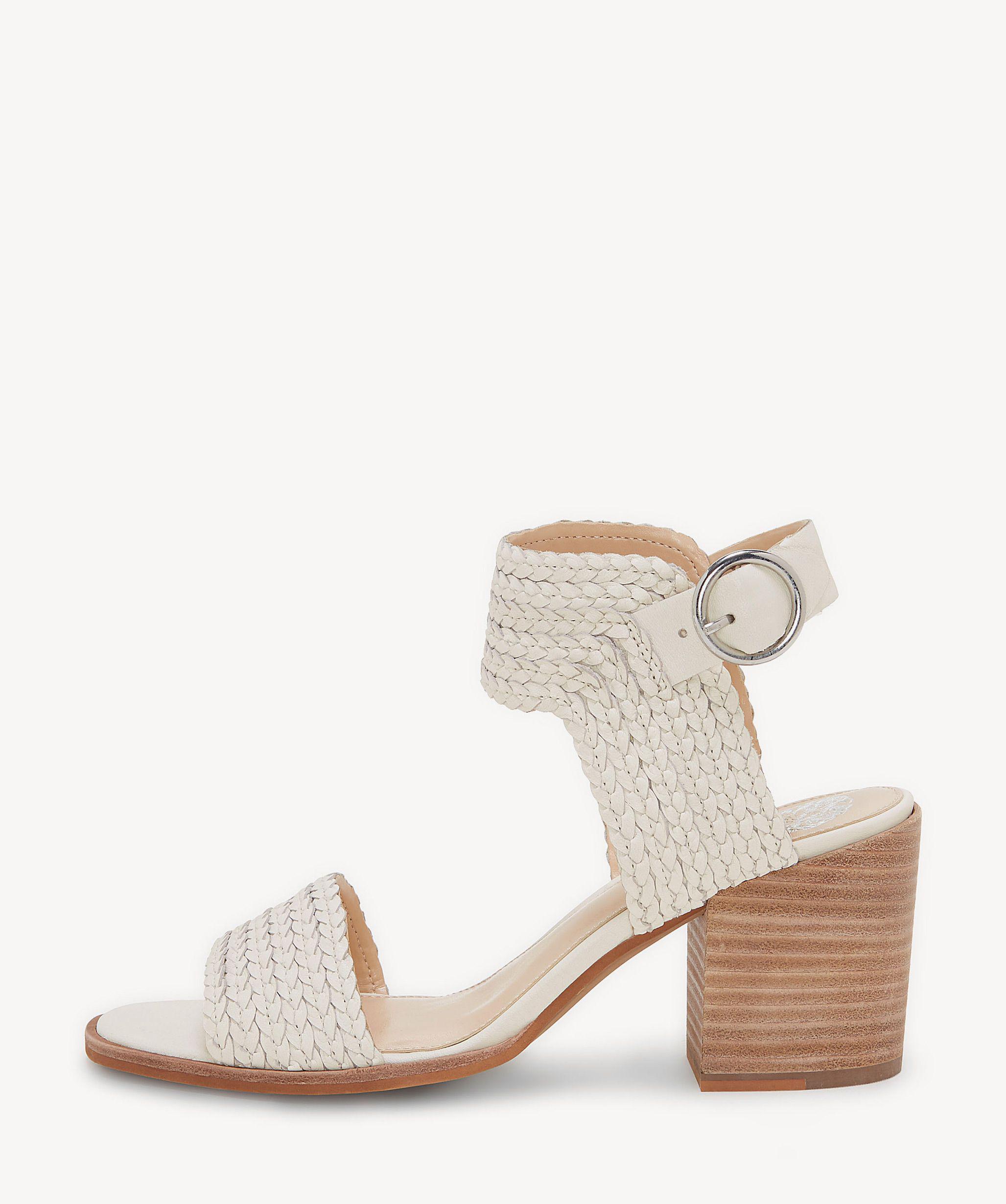 97887c0c17a Lyst - Vince Camuto Kolema Block Heel Sandal in Natural