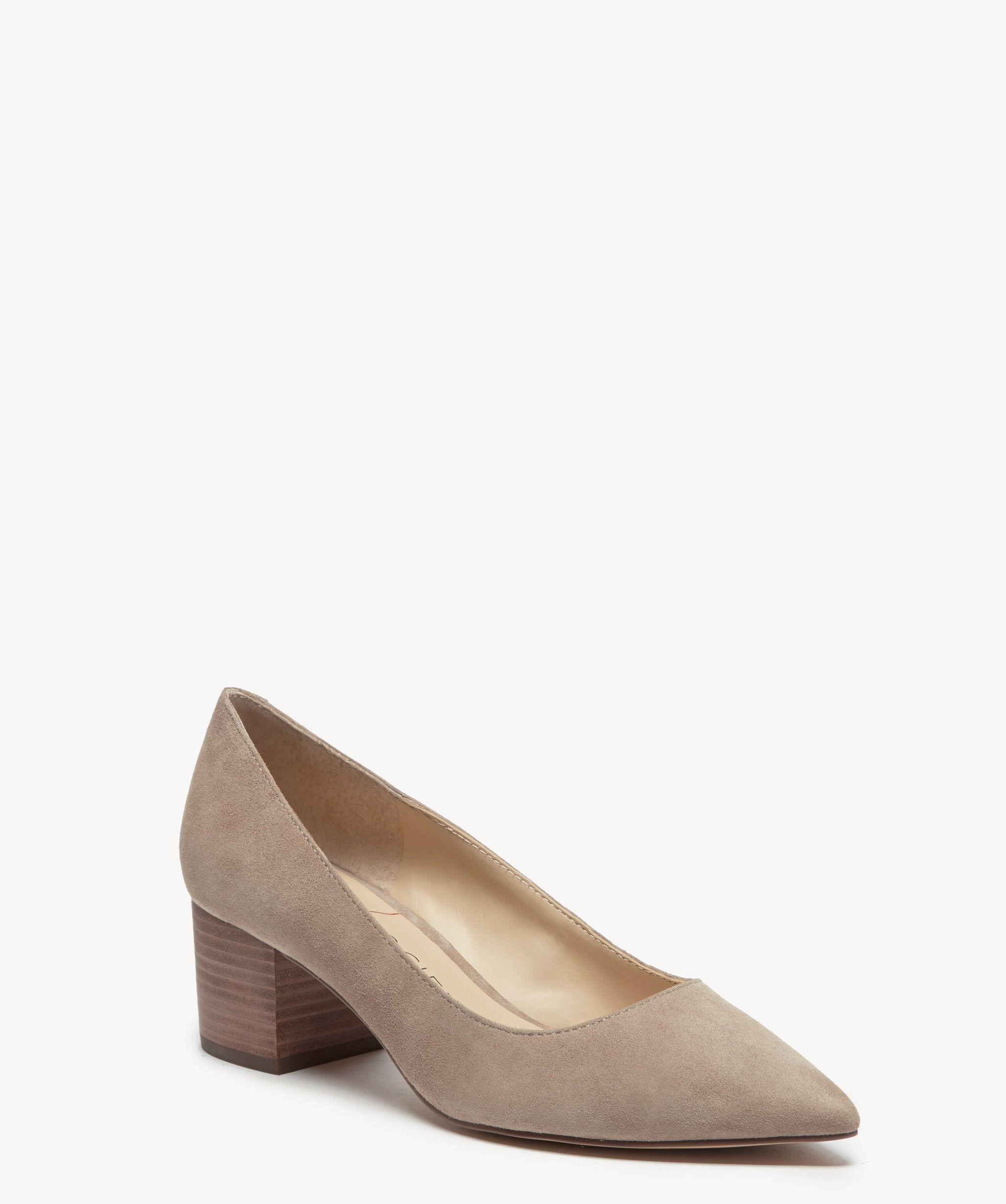 20a851a8f176 Lyst - Sole Society Andorra Block Heel Pump in Natural