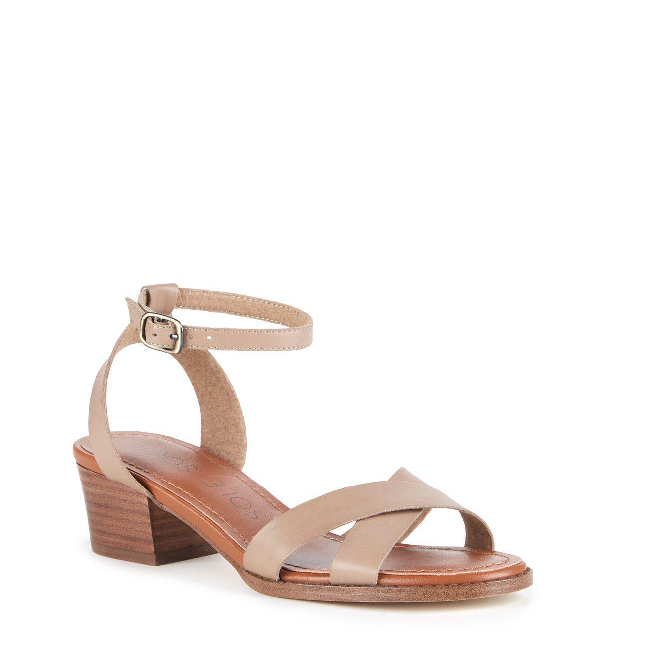 dbca27c7568 Lyst - Sole Society Savannah Block Heel Sandal