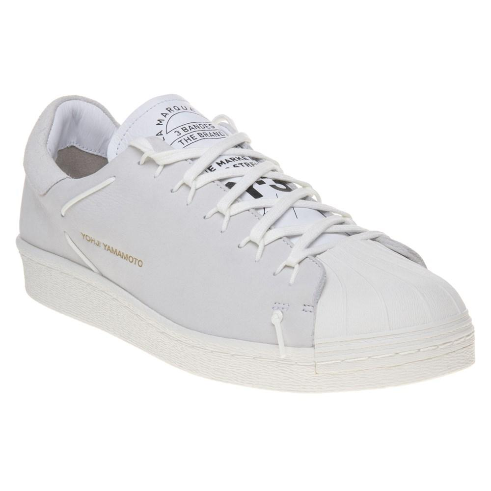 df83815d7 Y-3 Super Knot Trainers in White for Men - Lyst