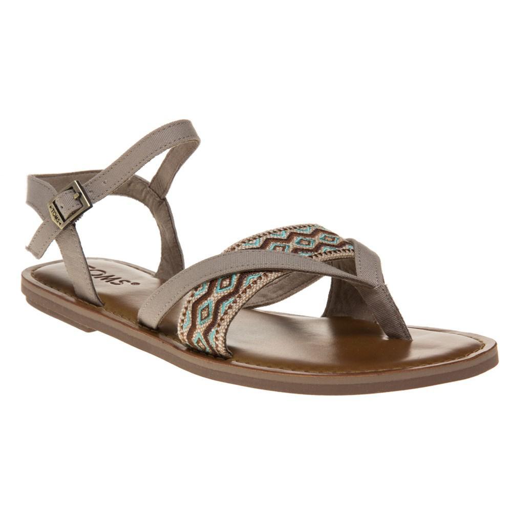 9223b42e5c7 TOMS Lexie Sandals in Brown - Lyst