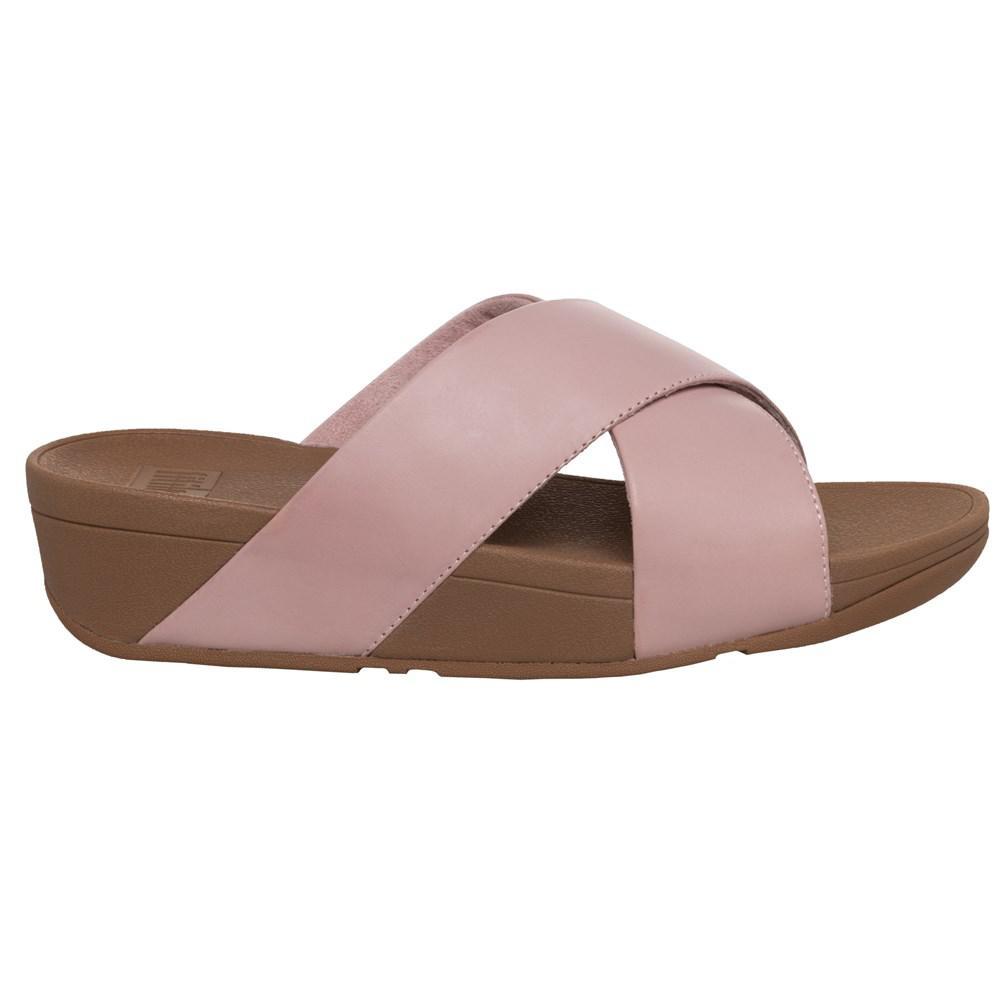 a700941f05c7 Fitflop - Multicolor Lulutm Cross Slide Sandals - Lyst. View fullscreen