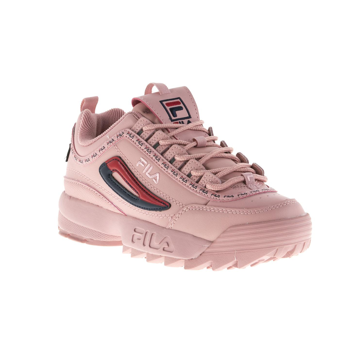 Fila Pink Taped Logo Disruptor 2 Premium Trainers in Pink - Save 1 ... 88ebef06f
