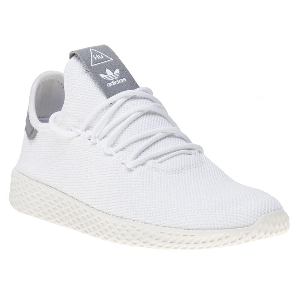 cde4cbbbf36f4 Adidas Pharrell Williams Tennis Hu Trainers in White for Men - Lyst