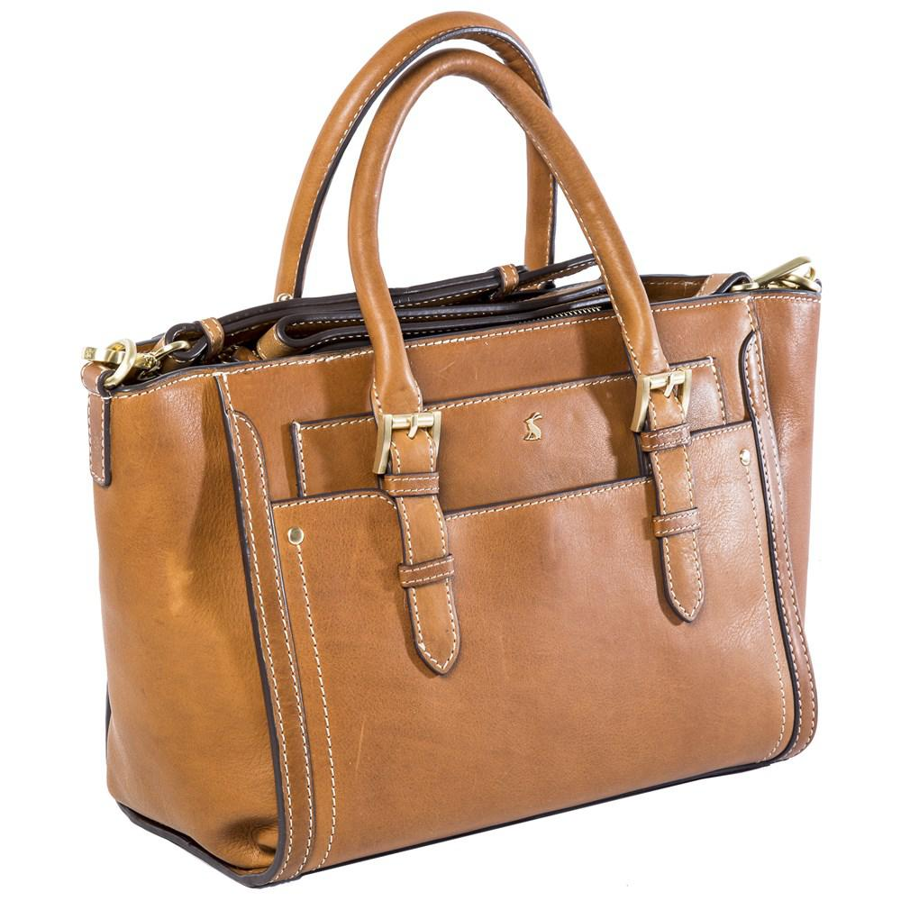 Joules Hathaway Handbag in Brown - Lyst f3b6afafe3e47