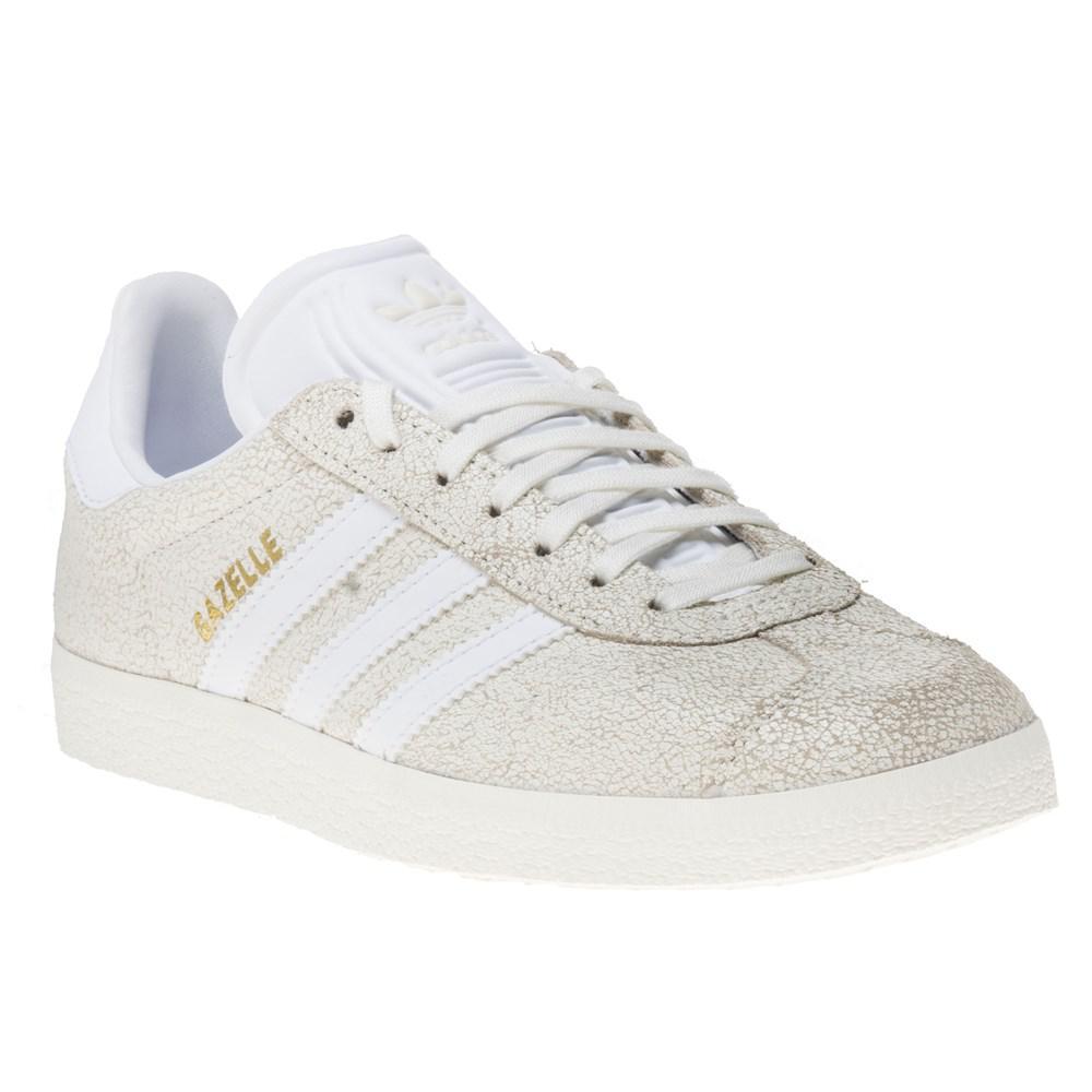 adidas Gazelle Trainers in White - Lyst 48383221b