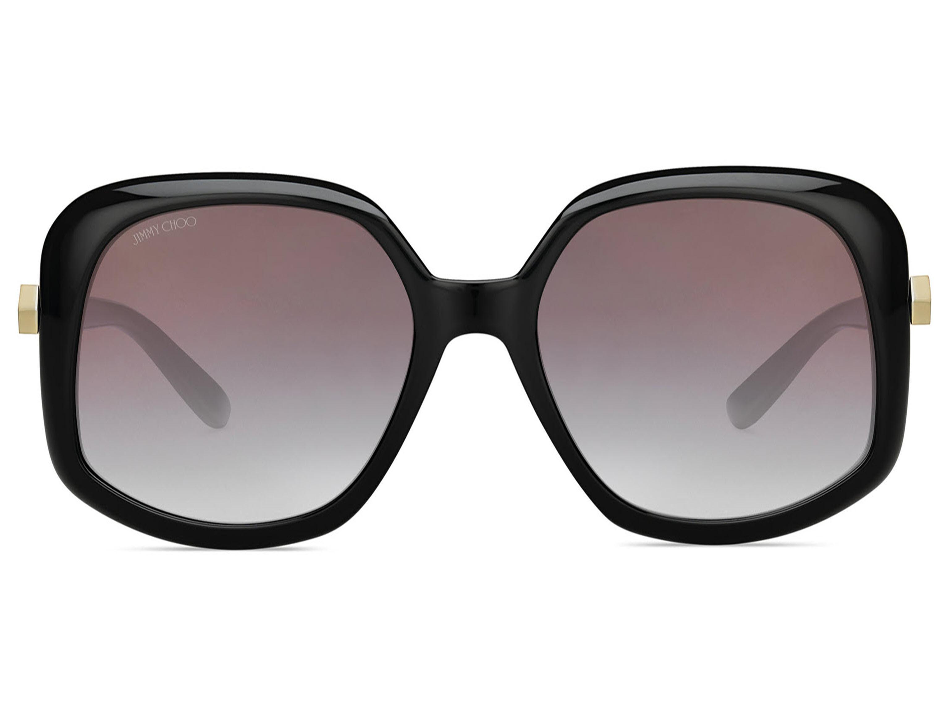 92ec7ddbbad13 Lyst - Jimmy Choo Amada s Rectangle Sunglasses in Brown