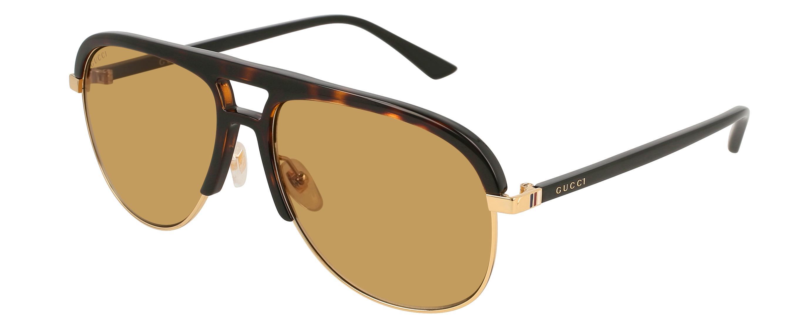 59bd2135e Gucci. Women's GG 0292 Aviator Sunglasses