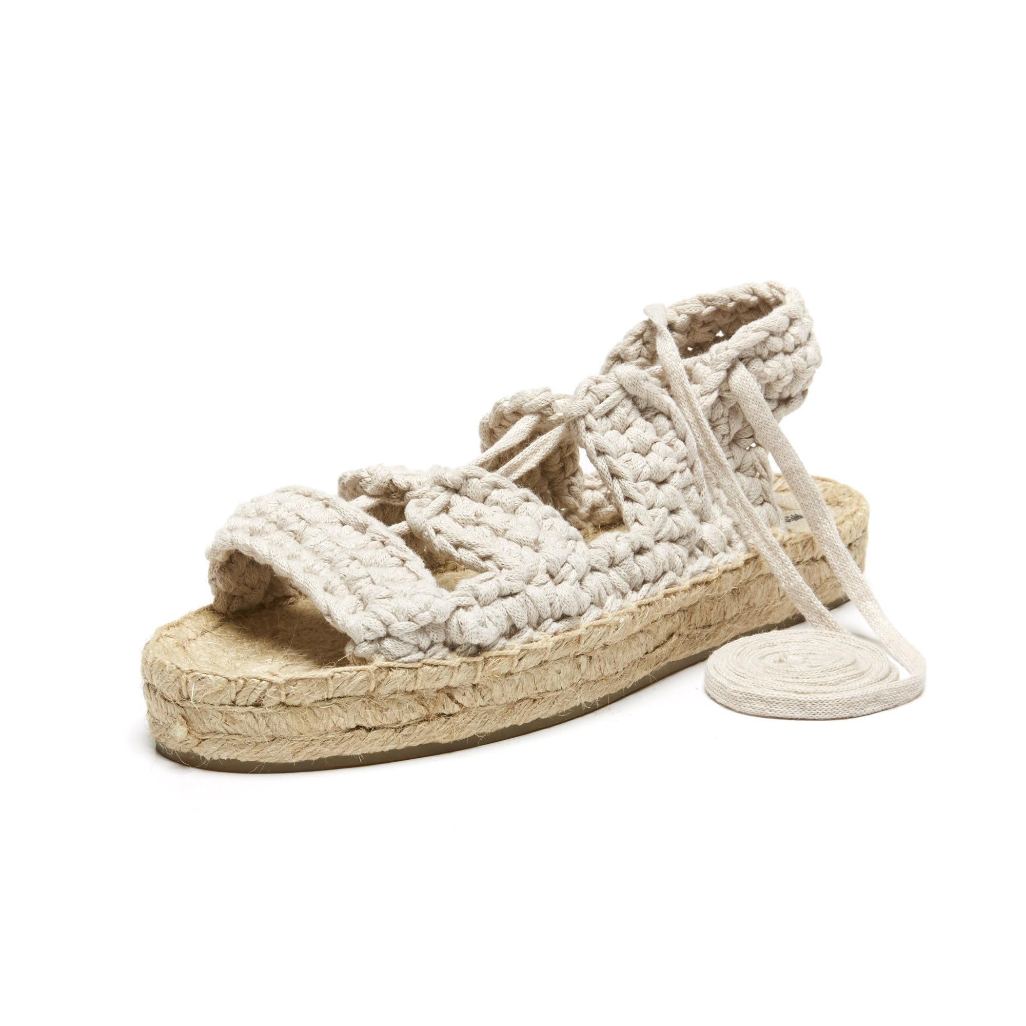 7b01f3fd622f Lyst - Soludos X Watg Diy Platform Sandal in Natural