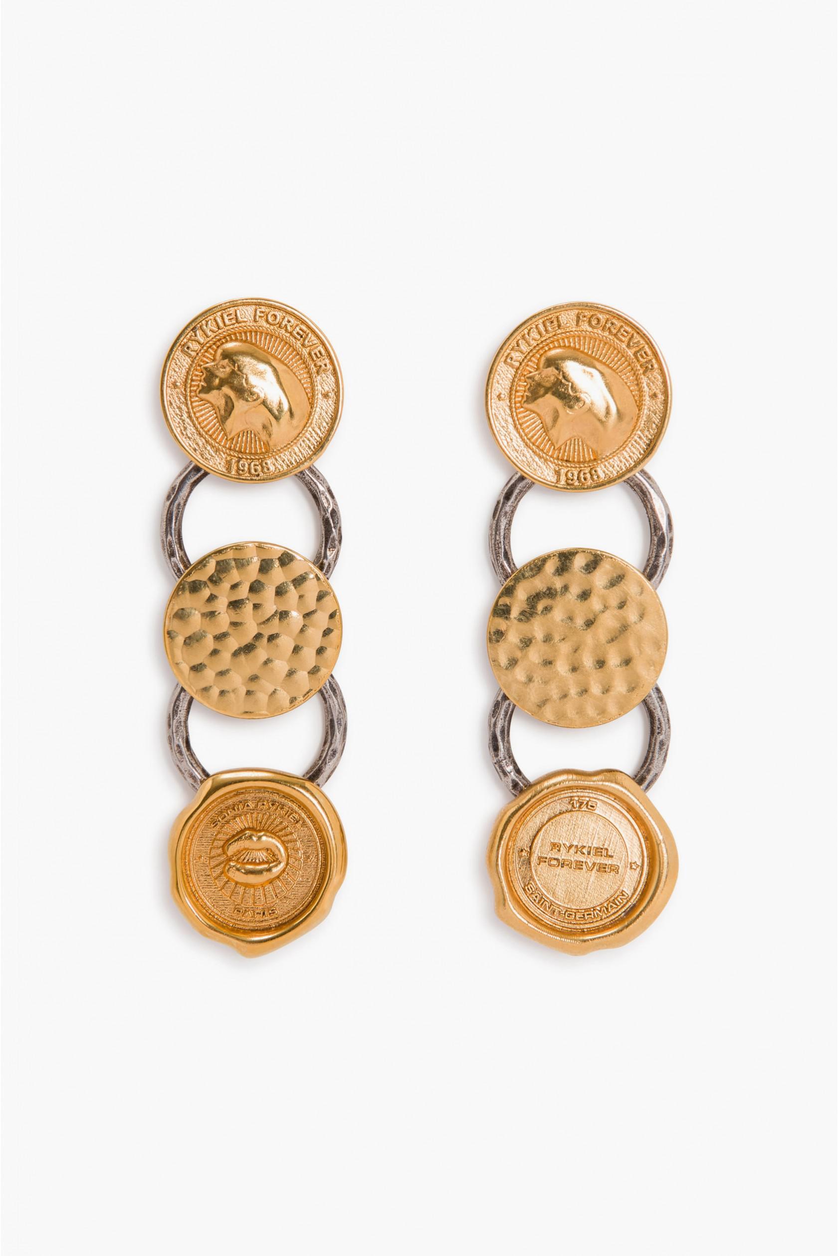 Sonia Rykiel Coin Earrings 2rNhozC4i