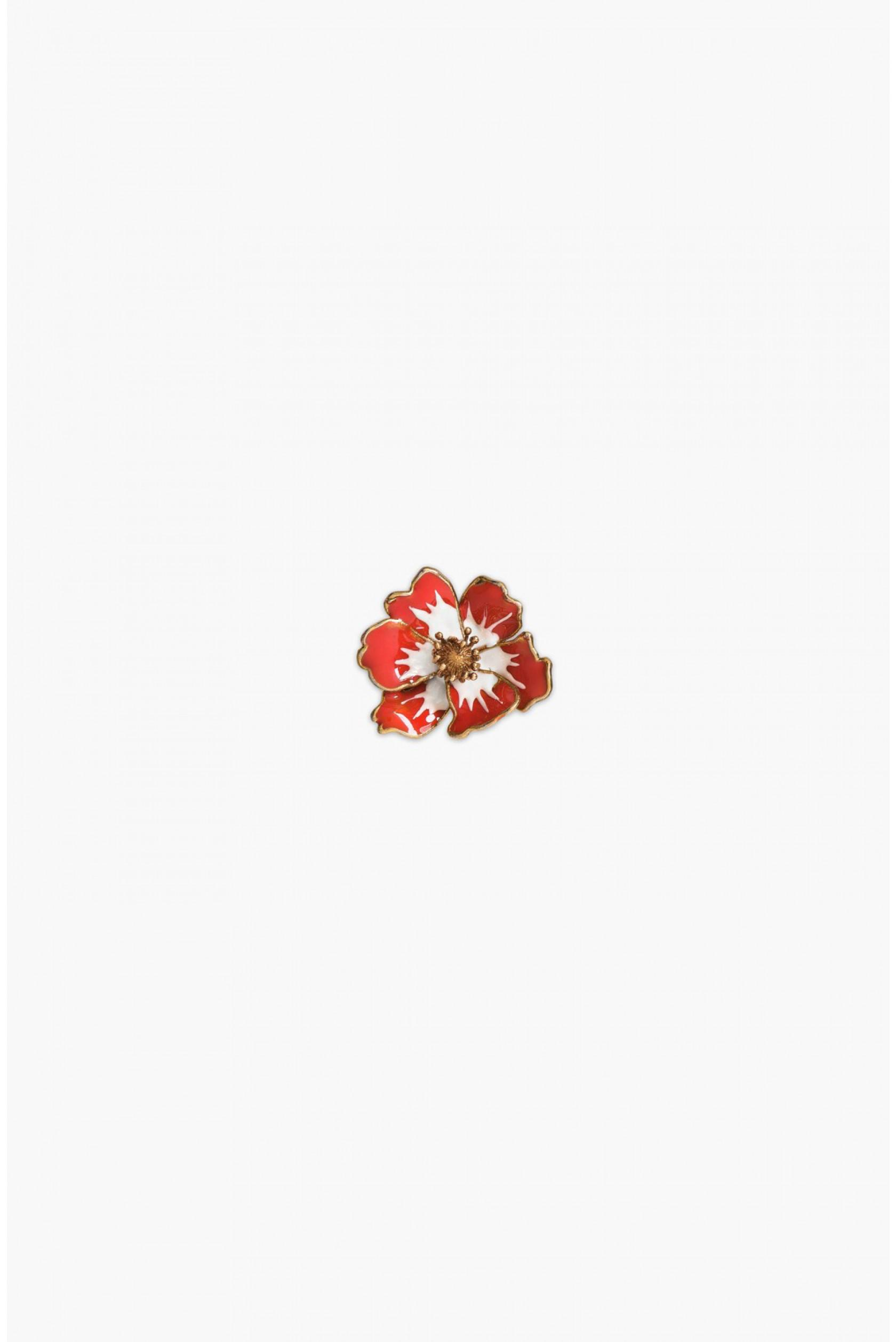Sonia Rykiel enamel anemone brooch - Multicolour RC99IWTeg