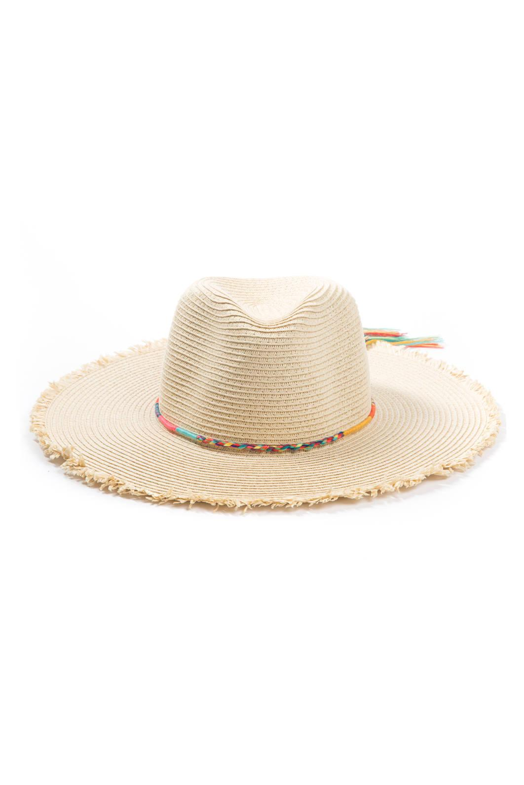 162f48964694f Lyst - Anamá Magid Neon Rope Trim P Hat in Natural