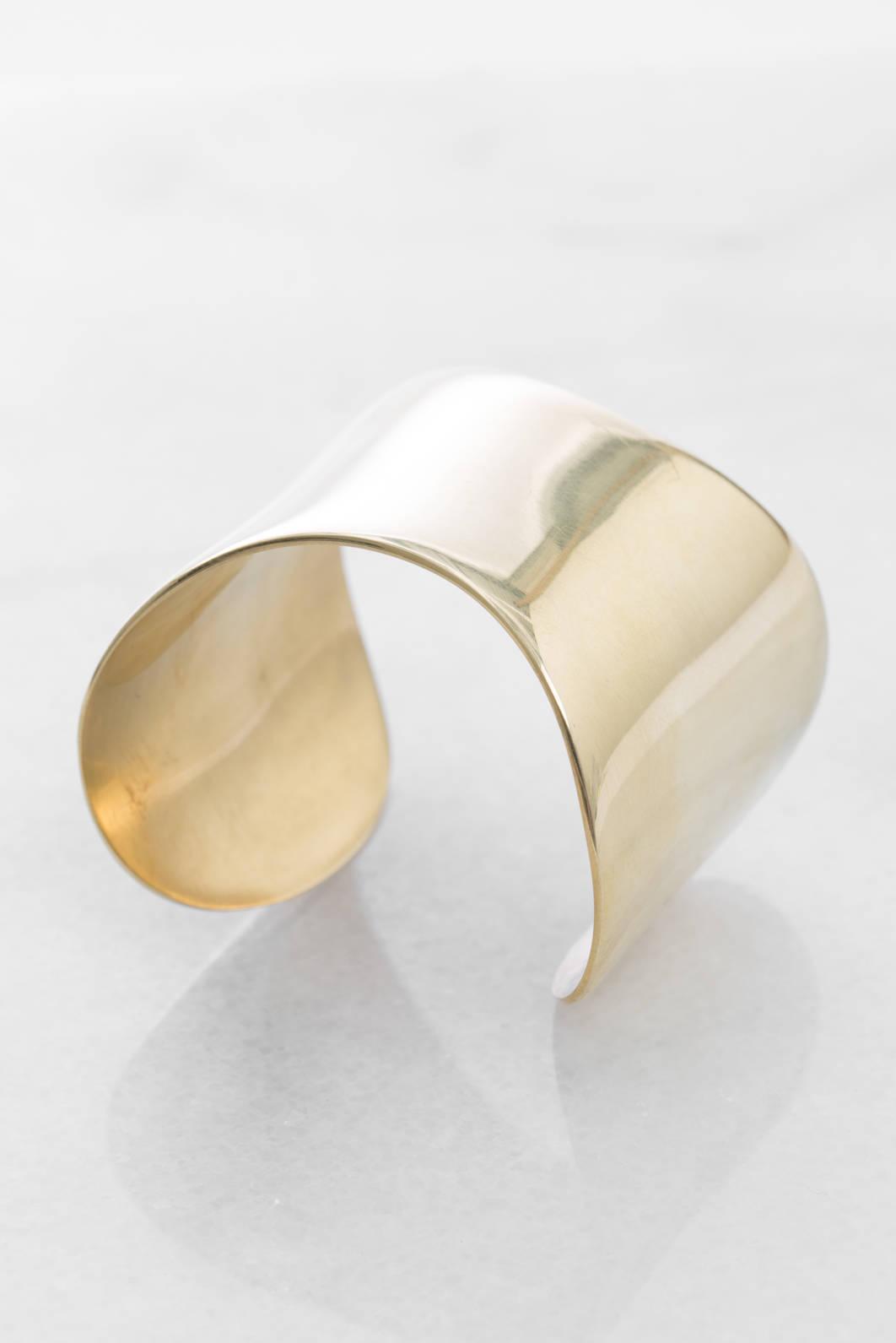 Soko Organic Flex Cuff Bracelet Brass r74CP