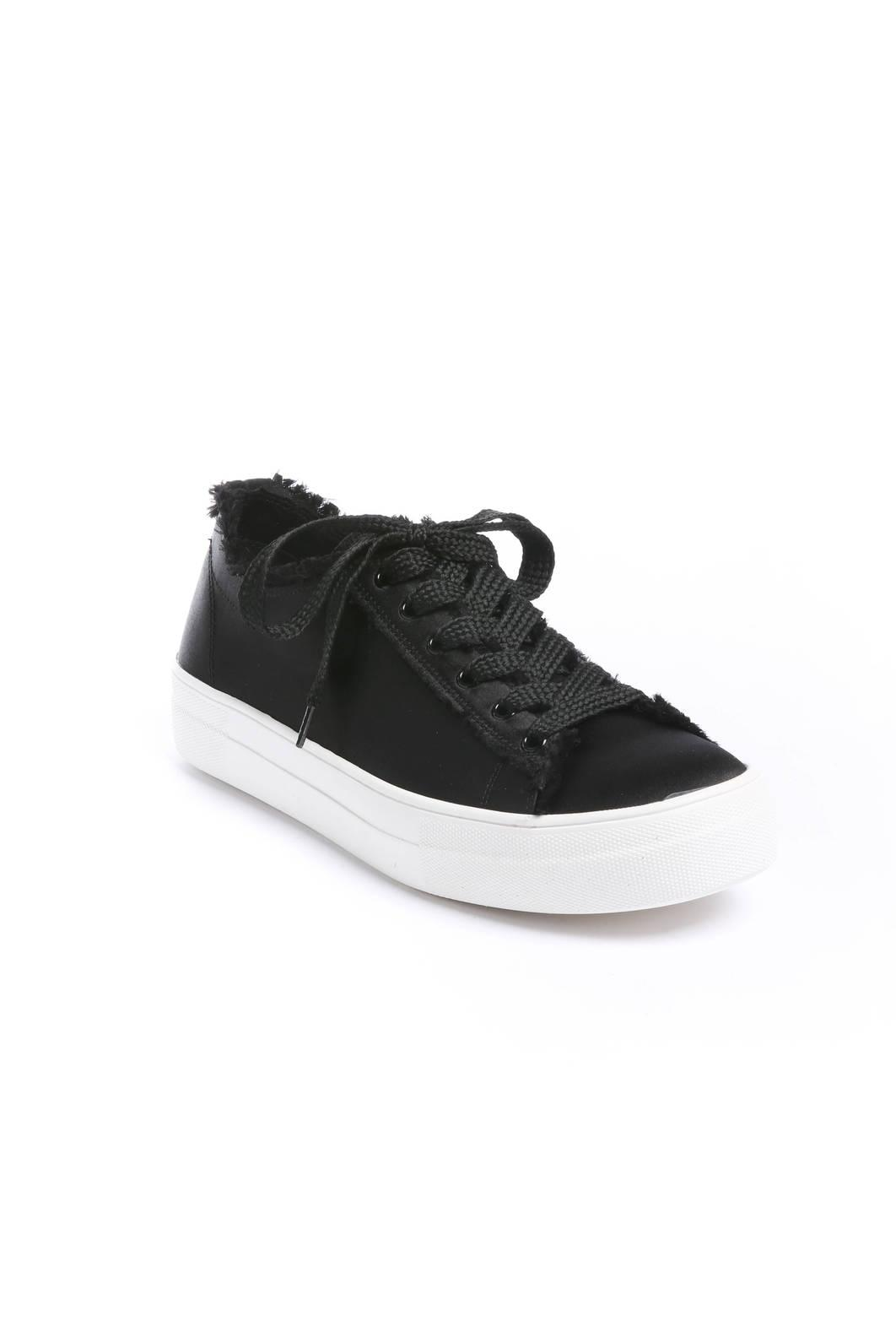c74274d5620 Lyst - Steve Madden Greyla Lace Up Satin Sneakers in Black for Men