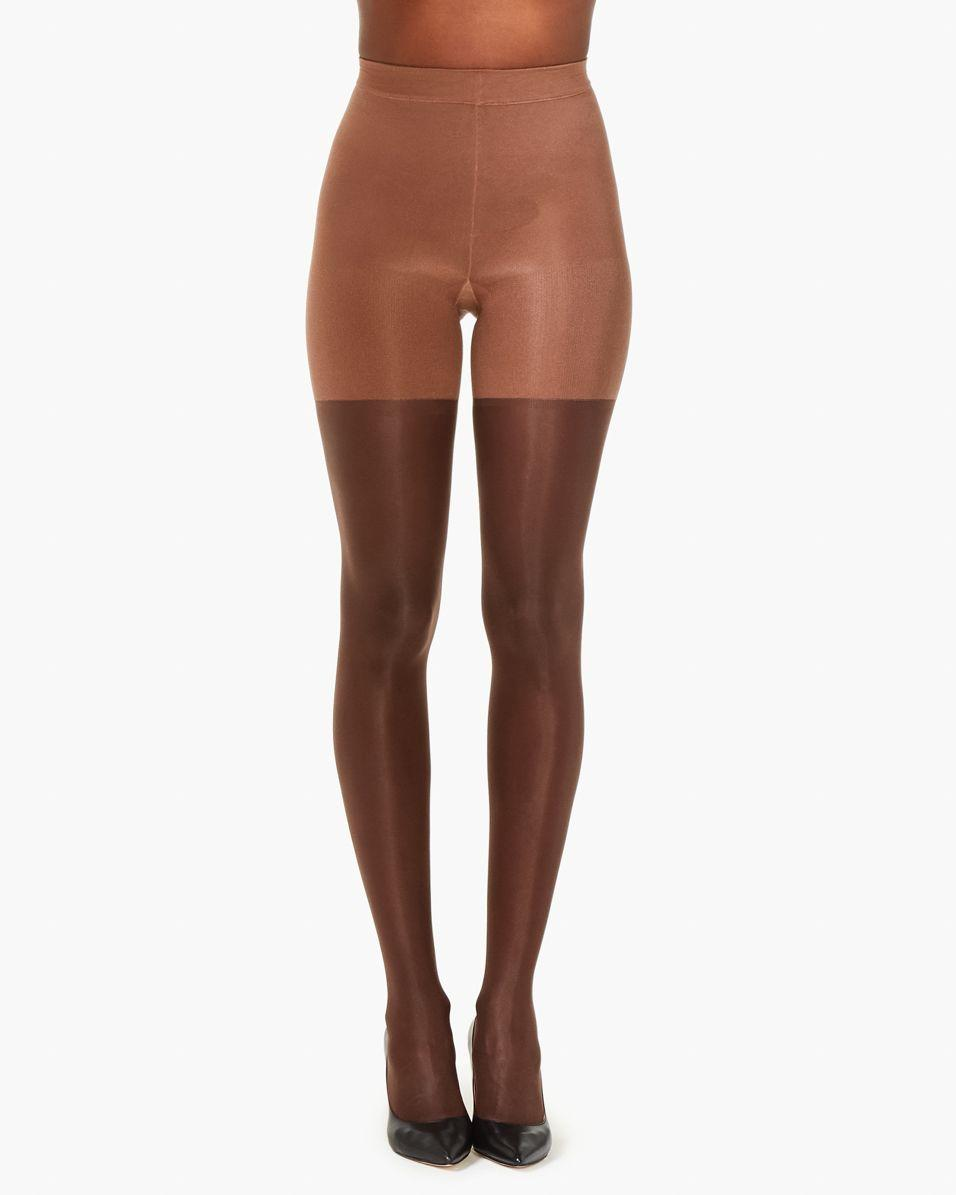 374fa6d868f Spanx. Women s Brown Graduated Compression Shaping Sheers ...