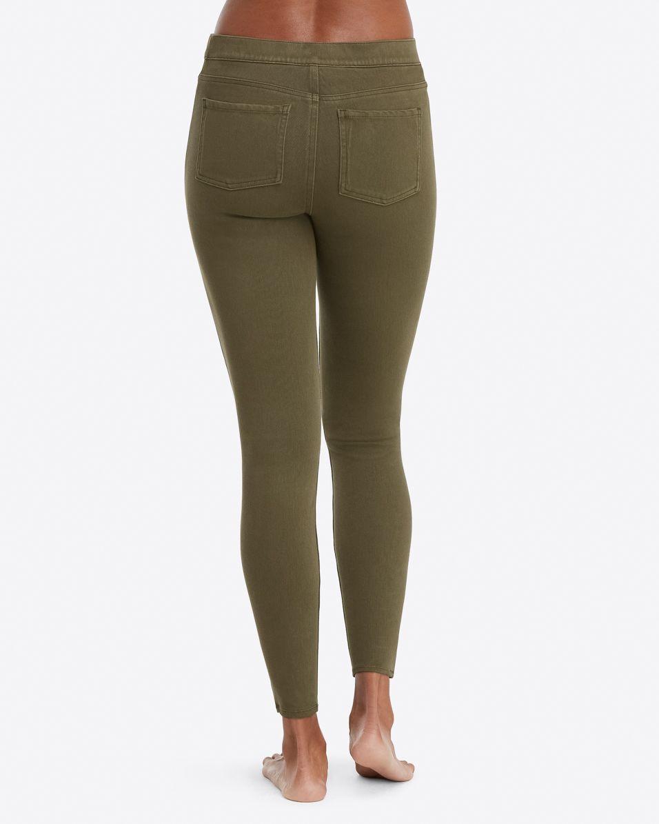 0f7a2936240e0 ... Jean-ish Ankle Leggings (dark Olive) Women s Clothing - Lyst. View  fullscreen