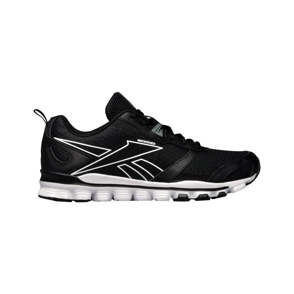 Reebok Hexaffect Run Le Men s Shoes (trainers) In Black in Black for ... 9568c2e23