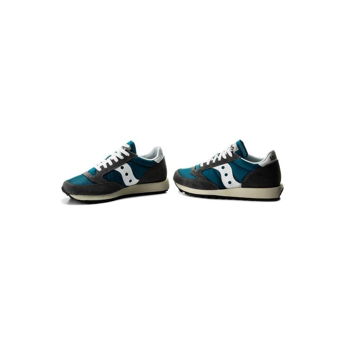 finest selection db2a6 44f66 Saucony - Jazz Original Vintage S70368-20 Men s Shoes (trainers) In Blue  for. View fullscreen