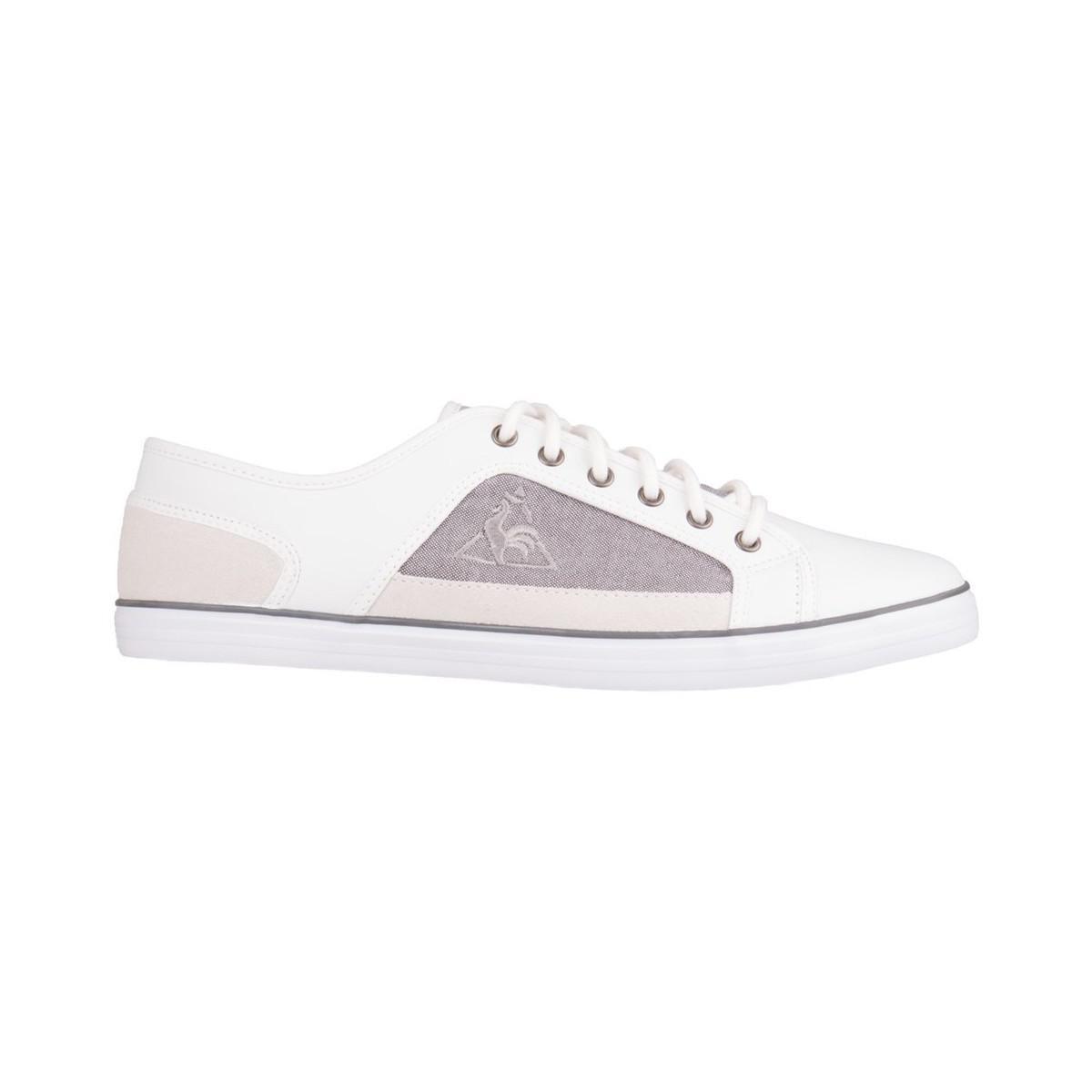 96b3bdff23fc Le Coq Sportif Milons Lea 2 Tones Men s Shoes (trainers) In White in ...