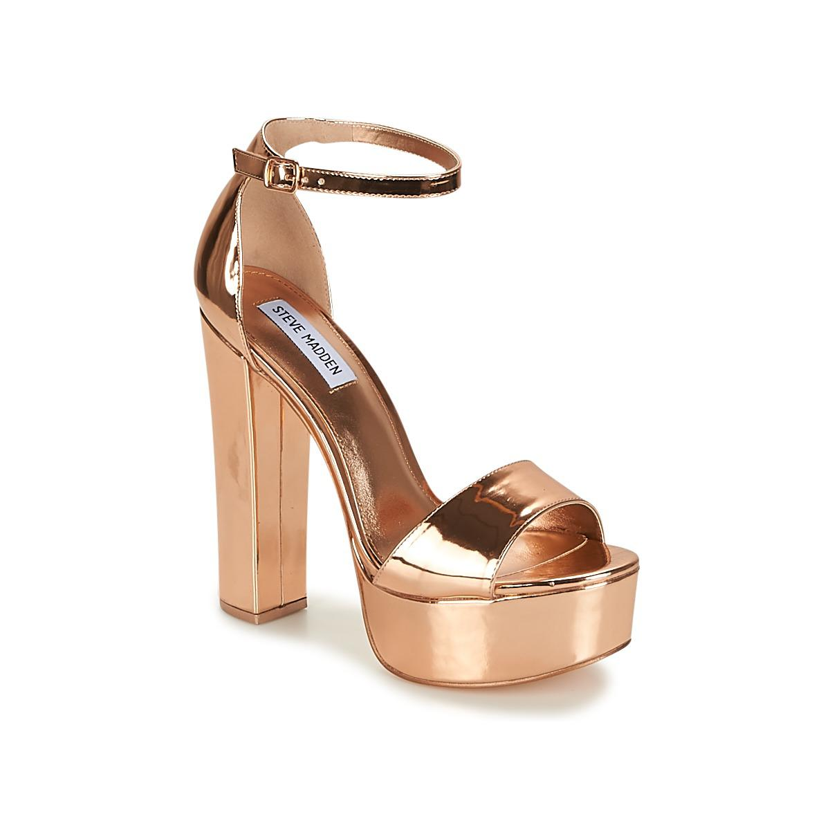 ae62d35e97e6 Steve Madden Gonzo Women s Sandals In Pink in Pink - Lyst
