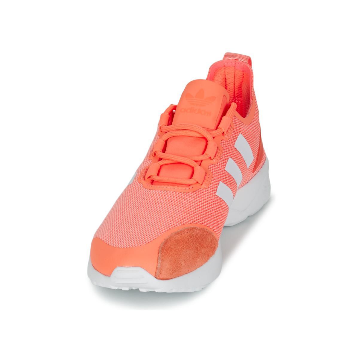 pretty nice c1cac 5bc8a Adidas - ZX FLUX ADV VERVE W femmes Chaussures en orange - Lyst. Afficher  en plein écran