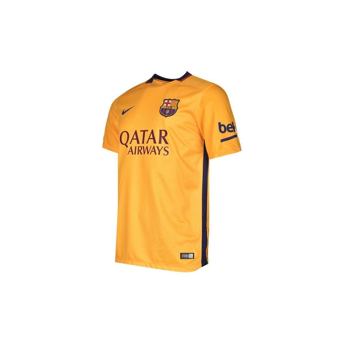 254e88f1a Nike 2015-16 Barcelona Away Shirt (messi 10) - Kids Men s T Shirt In ...