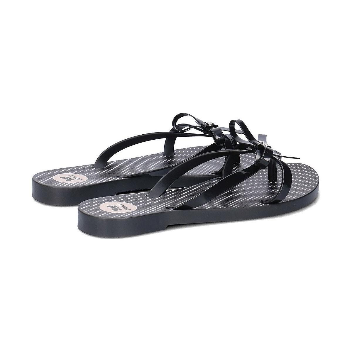 8debfaa372012f Zaxy - Fresh Top Women s Flip Flops   Sandals (shoes) In Black - Lyst. View  fullscreen
