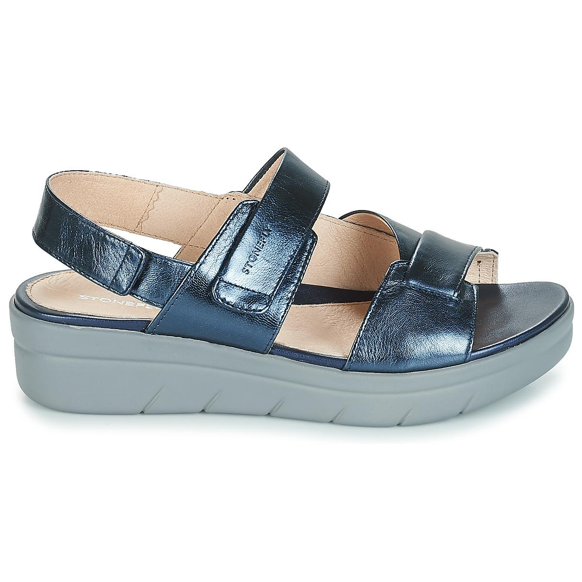 in 1 Multicolour Aqua Stonefly Blue Women's Laminated In Sandals Iii 8Swwq6A