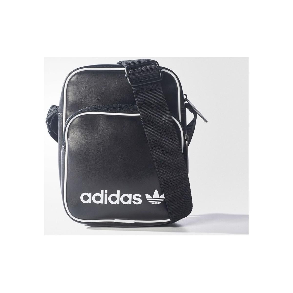 126bc05cbd adidas Originals Mini Vintage Bag Women s Messenger Bag In Black in ...