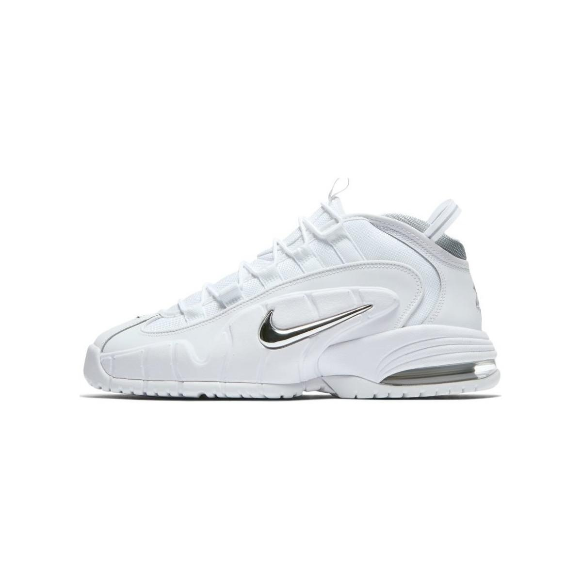Nike - Air Max Penny 1 Men s Shoes (high-top Trainers) In White. View  fullscreen fad4acad8