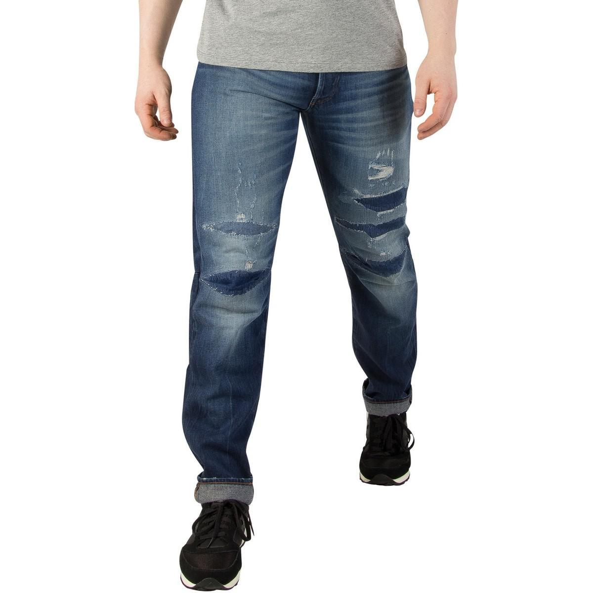 G-Star RAW. Men\u0027s 3301 3d Restored 207 Tapered Jeans ...