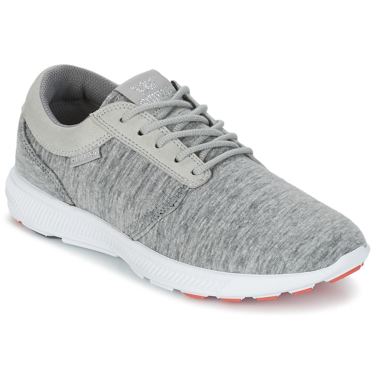 76873b846073 Supra Womens Hammer Run Women s Shoes (trainers) In Grey in Gray - Lyst