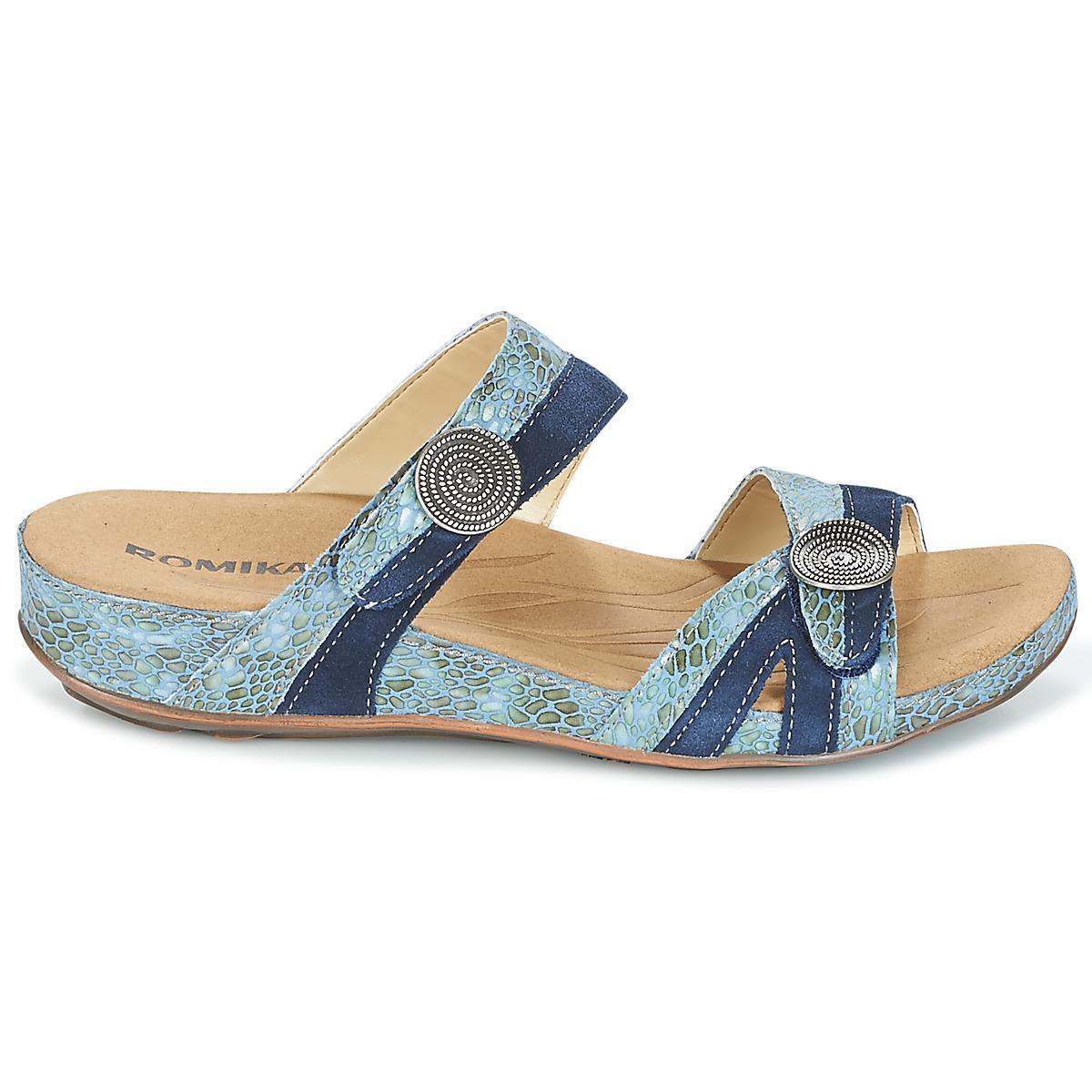 12504e811da735 Romika Fidschi 22 Women s Mules   Casual Shoes In Blue in Blue - Lyst