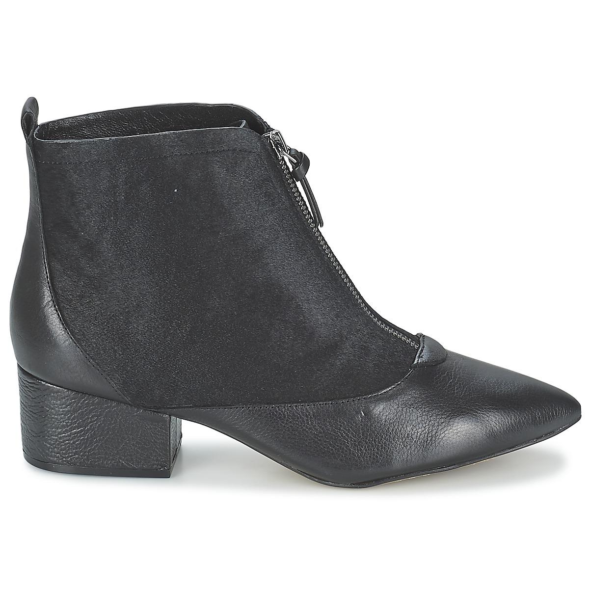 35ee0c52f8dd French Connection Robrey Women s Low Ankle Boots In Black in Black ...