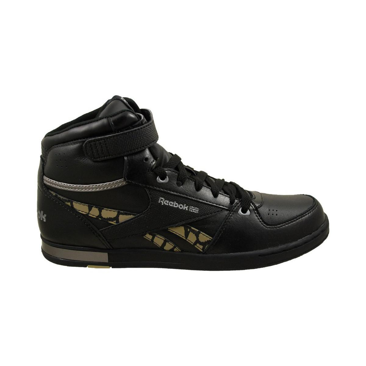011c368f5ac1 Reebok Cl Hialeah Mid Women s Shoes (high-top Trainers) In Black in ...