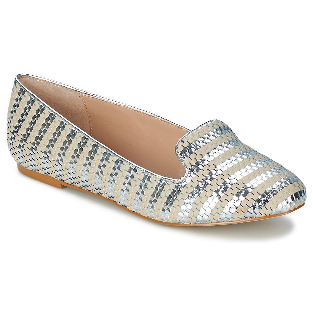 77d3379de50 Carvela Kurt Geiger Lychee Shoes (pumps   Ballerinas) in Metallic - Lyst