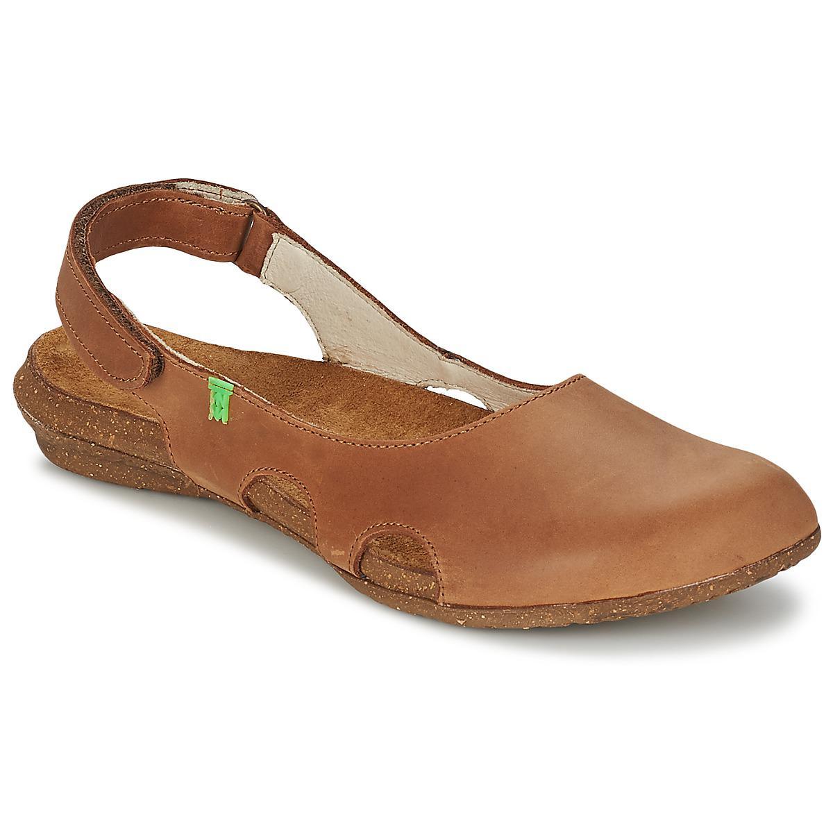 d22927ea4278 El Naturalista Wakataua Women s Sandals In Brown in Brown - Save 5 ...