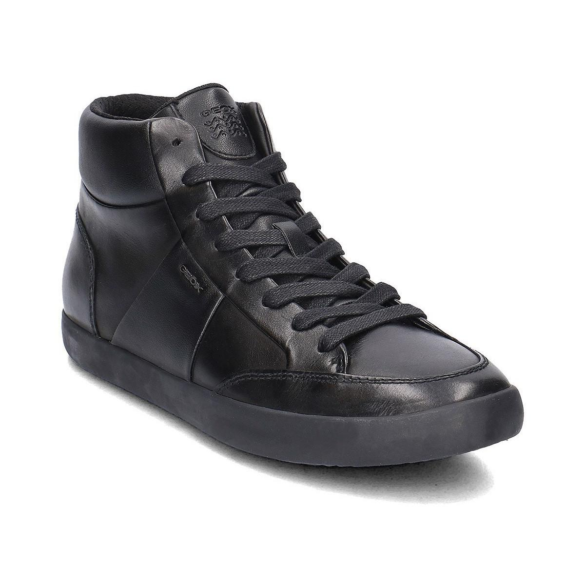 c17e161f9 Geox Smart Men s Shoes (high-top Trainers) In Black in Black for Men ...
