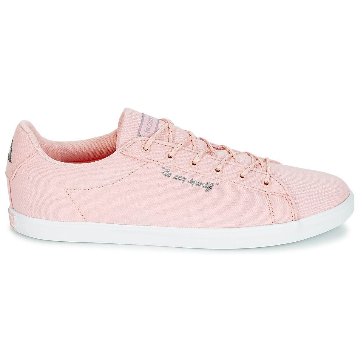f7049f7216c0 Le Coq Sportif Agate Lo Cvs metallic Shoes (trainers) in Pink - Save ...