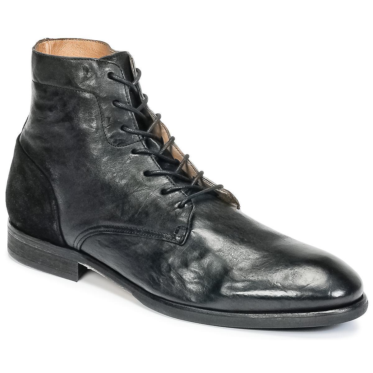 2b77dacb5eeaea Men s Boots Black Yoackley Mid Lyst For Hudson Jeans Men In reExQoWBCd